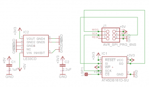 ISP Memory Schematic