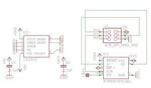 ISP Memory Schematic